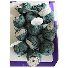 11 skeins of vintage Duet wool and alpaca blend yarn made in Italy