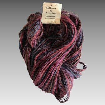 500 yards of vintage Brooks Farm Primero pure kid mohair yarn