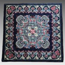 Vintage Ginnie Johansen pure cotton scarf