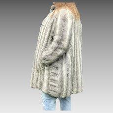 Vintage Natural Rabbit Coat