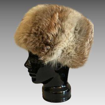 Vintage Canadian Coyote Hat