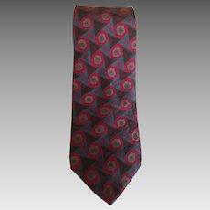 Iconic Karl Langerfeld Silk Tie