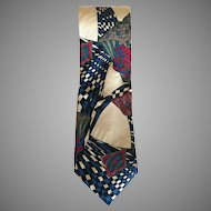 Vintage Guy Laroche Paris Silk Tie Made in USA