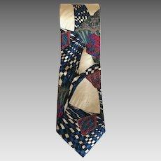 Vintage Guy Laroche Paris Silk Tie Made in USA