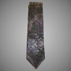 Vintage Oscar by Oscar de La Renta Couture Silk Tie