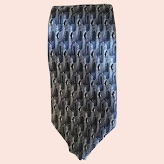 Cool Jerry Garcia Like A Twittering Machine Silk Tie