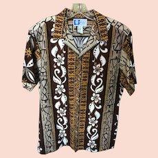Vintage RJC Hawaiian Aloha Shirt SZ Large