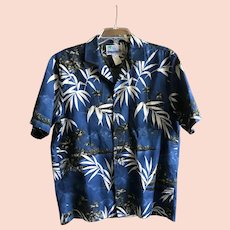 Vintage RJC Hawaiian Aloha Shirt SZ Medium