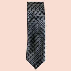 c08797180c50 NOS Vintage 60s/70s Ken Scott Kaleidoscopic Print Silk Necktie : Cur ...