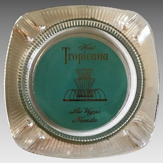 Retro Tropicana Hotel Las Vegas Ashtray