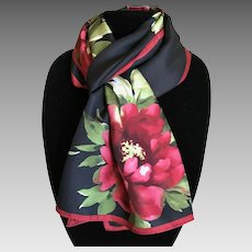 Best Christmas Silk Scarf by Talbots