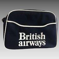 Vintage British Airways Cabin Bag