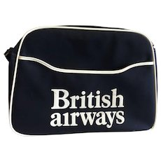 Vintage British Airways Cabin Bag