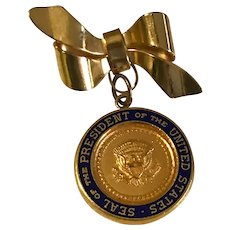 Vintage President of the United States Seal Brooch / Pin