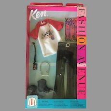 Mattel Ken Doll Fashion Avenue Rock Concert Outfit NIB