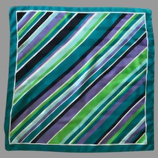 Vintage EZ Care Polyester Scarf Italy