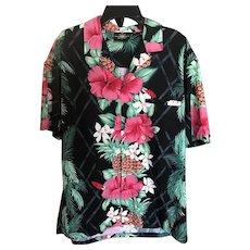 Royal Creations Made in Hawaii Aloha Shirt SZ L