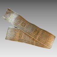 Vintage Greek Key ribbon trim