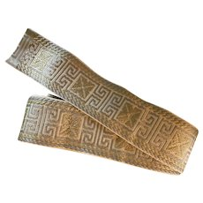 Vintage Greek Key ribbon trim