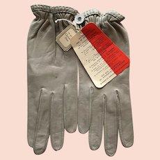 Vintage Christian Dior Leather Gloves