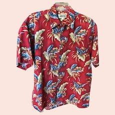 Vintage Pure Cotton Hawaiian Aloha Shirt SZ L