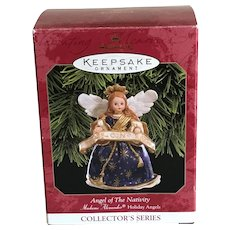 Vintage Hallmark Madame Alexander Holiday Angel Ornament