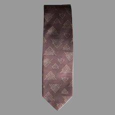 Vintage Giorgio Armani Christmas Tree Tie
