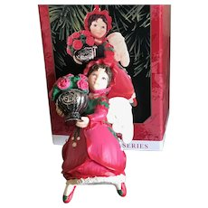 Hallmark 1999 Rose Angel The Language of Flowers #3