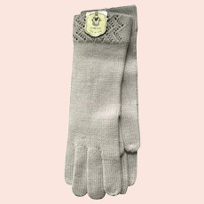 Vintage NWT Max Mayer Knit Gloves