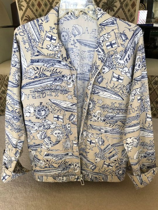 d66acfbe57889d Rare Vintage Lilly Pulitzer Mens Stuff Cruise Wear Jacket ...