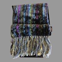 Silky Jewel Tone Velvet Kenneth Cole Scarf