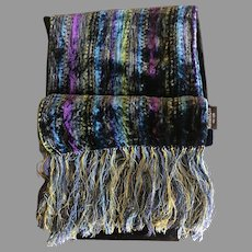 Silky Jewel Tone Velvet Kenneth Cole Scarf