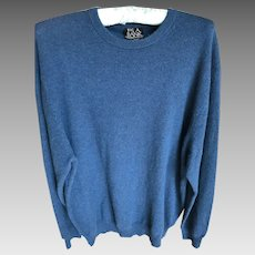 Vintage Men's Cashmere Sweater Size L