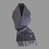 Cashmere Brooks Brothers Scarf Made in Scotland