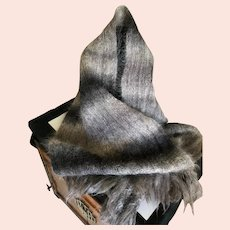 Vintage Mohair Scarf / Wrap Scotland