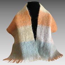 Vintage Mohair scarf Scotland