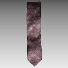 Vintage Giorgio Armani Claret Tie