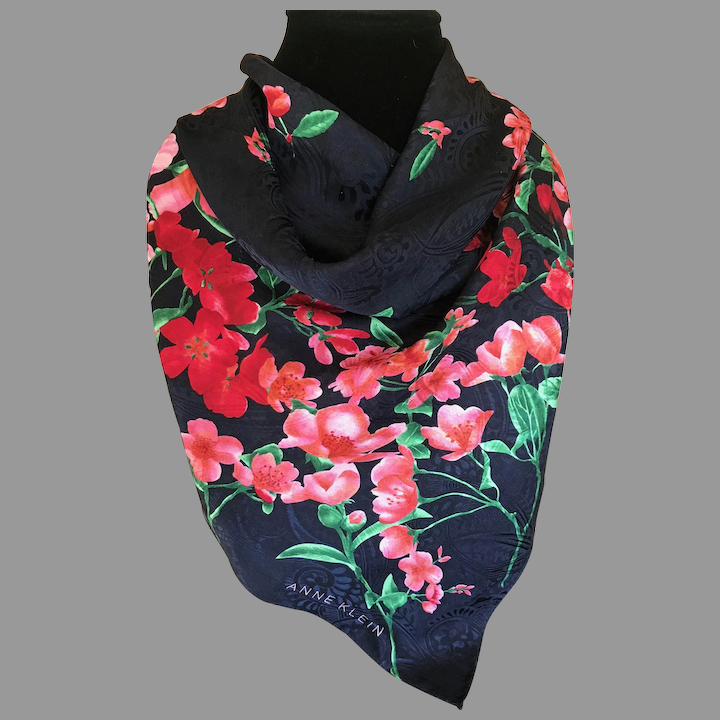 Sweet Pea Fashion Navy Blue Fashion Scarf