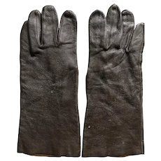 1940s WW 2 Steinberg Brothers US Army Air Forces Leather Pilots Gloves