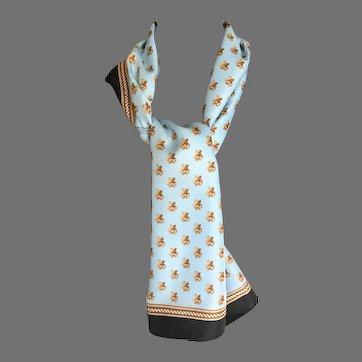 Easy Care Polyester Teddy Bear Scarf