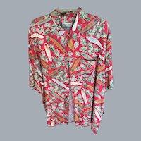 Vintage Ryen Spooner Longboard Aloha Shirt XXL