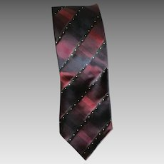 Vintage Italian silk necktie