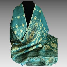 Vintage Cashmere Wrap Shawl Scarf from Jerusalem