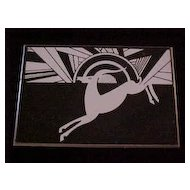 Helena Rubinstein Art Deco Style  Deer Box