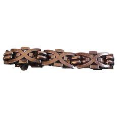 Vintage Taxco Bernice Goodspeed Sterling Silver Link Bracelet