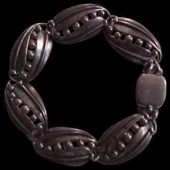 Rare Carl Ruopoli Sterling Silver Bracelet for Danecraft