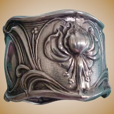 Frank Whiting Sterling Silver Nouveau Napkin Ring  Amelia