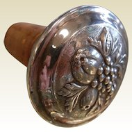 Vintage Tiffany & Company Sterling Silver Cork Stopper