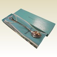 Vintage PERETTI 1984 Tiffany & Co. Sterling Silver Baby Feeding Spoon