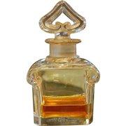 Vintage Guerlain Perfume in Baccarat Bottle Made in France